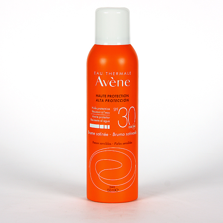 Farmacia Jiménez | Avene Solar Bruma Satinada SPF30 Spray 150 ml