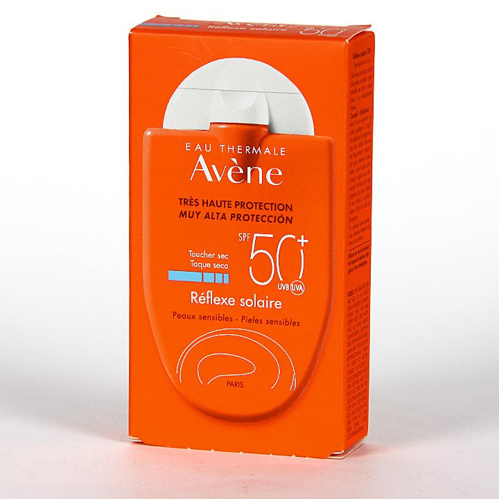 Farmacia Jiménez | Avene Solar Reflexe Toque seco SPF50+ 30 ml