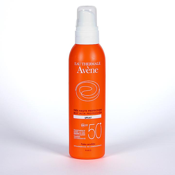 Farmacia Jiménez | Avene Solar Spray SPF 50+ Cara y Cuerpo 200 ml