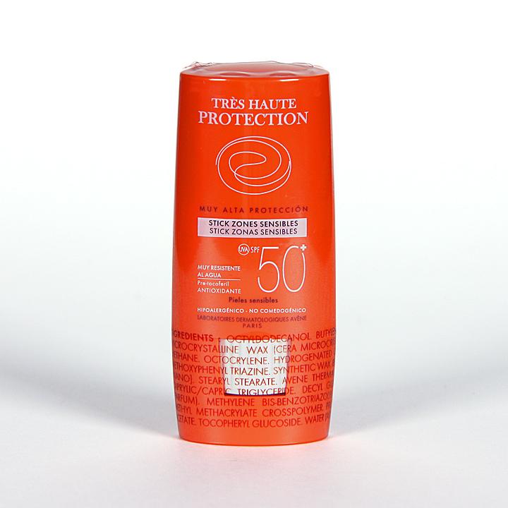 Farmacia Jiménez | Avene Solar Stick SPF 50+ zonas sensibles 8 g
