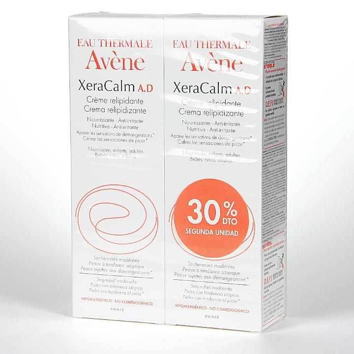 Farmacia Jiménez | Avene XeraCalm A.D Crema relipidizante 200 ml Pack Duplo