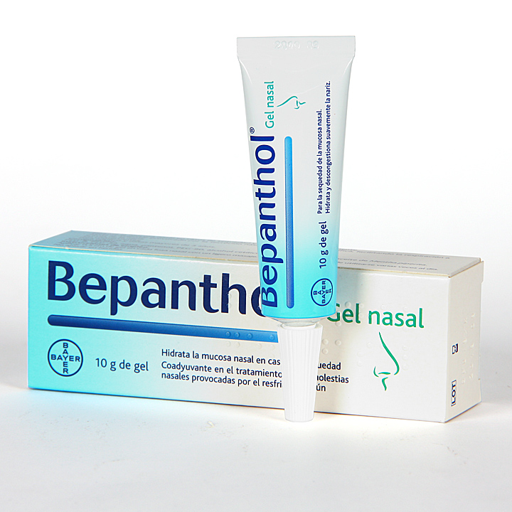 Farmacia Jiménez | Bepanthol Gel Nasal 10 g