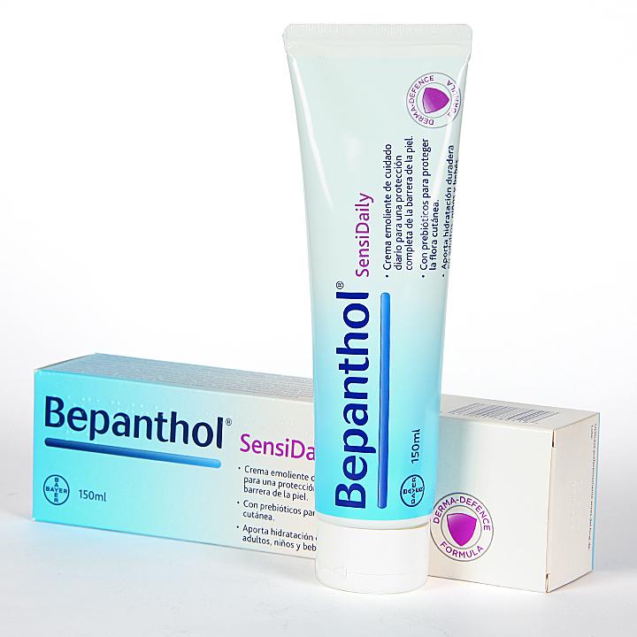 Farmacia Jiménez | Bepanthol SensiDaily Crema 150 ml