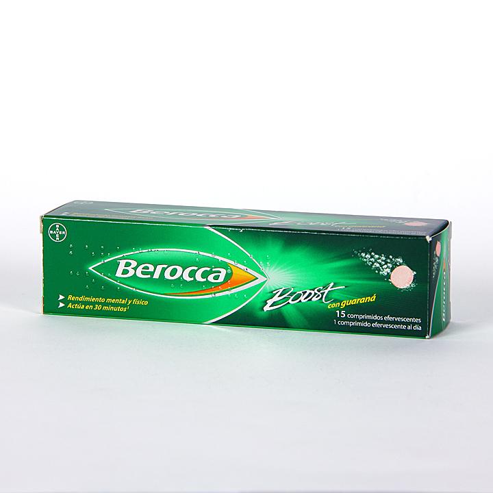 Farmacia Jiménez   Berocca Boost 15 comprimidos efervescentes