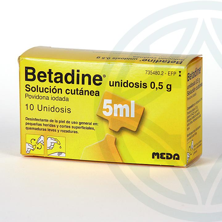 Farmacia Jiménez | Betadine 10% solución Tópica