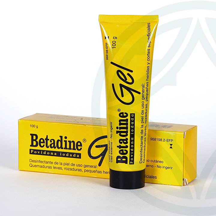 Farmacia Jiménez | Betadine gel tópico 100 g