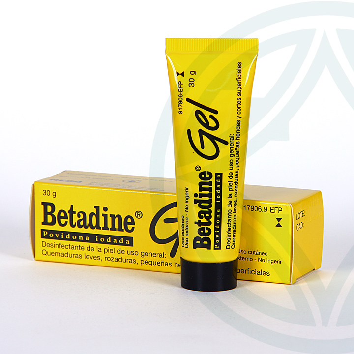Farmacia Jiménez | Betadine gel tópico 30 g