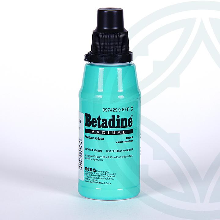 Farmacia Jiménez   Betadine Vaginal solución tópica 125 ml