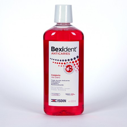Farmacia Jiménez | Bexident Anticaries Colutorio 500 ml