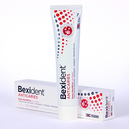 Farmacia Jiménez | Bexident Anticaries pasta dentífrica 125 ml