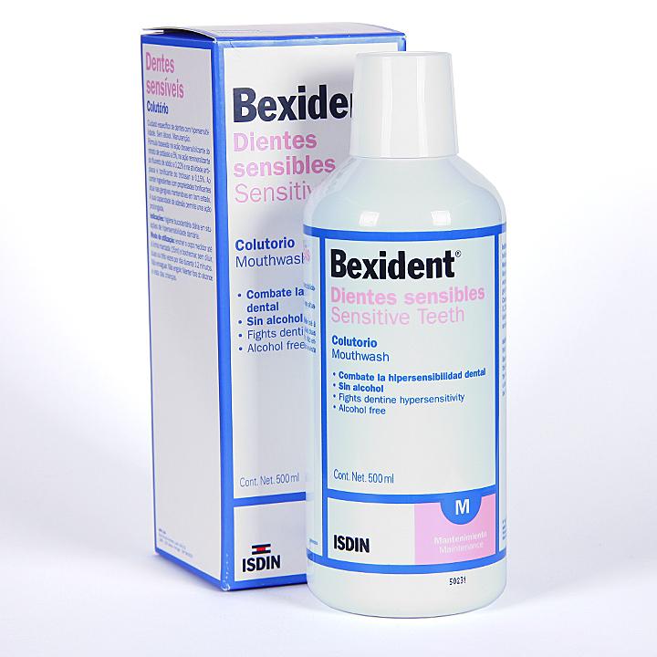 Farmacia Jiménez | Bexident Dientes Sensibles Colutorio 500 ml