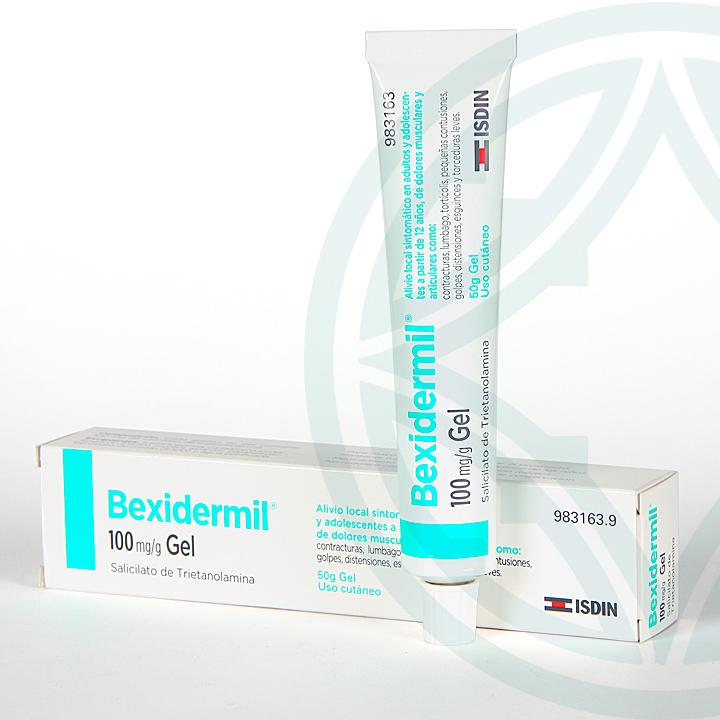Farmacia Jiménez | Bexidermil 100 mg/g gel tópico 50 g