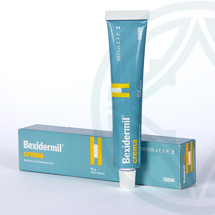 Farmacia Jiménez | Bexidermil 100 mg/g crema 50 g