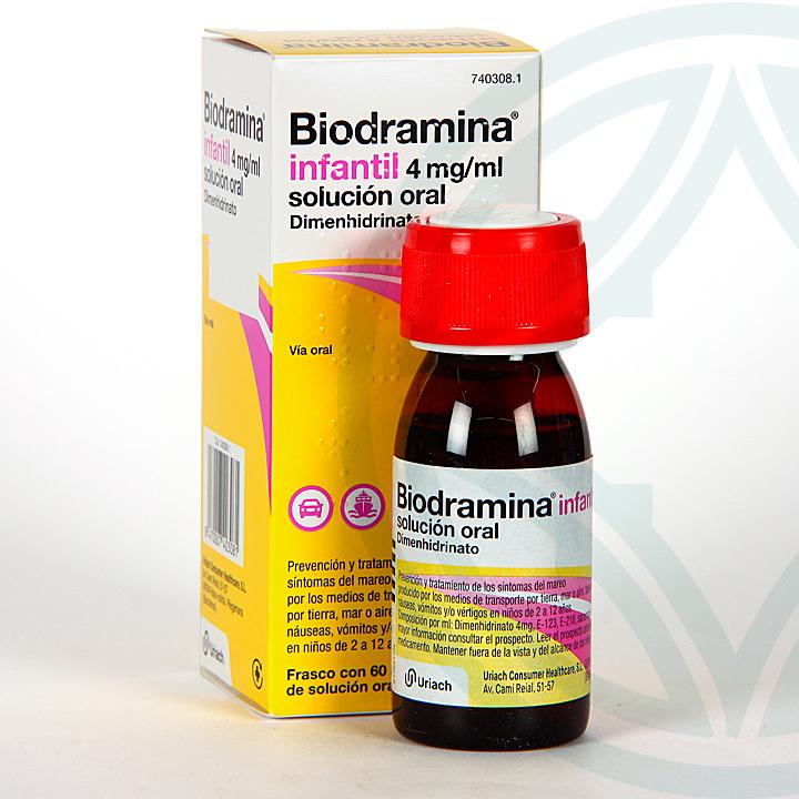 Farmacia Jiménez | Biodramina Infantil solución oral 60 ml