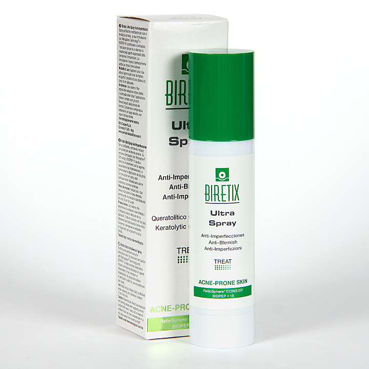 Farmacia Jiménez | Biretix Ultra Spray Antiimperfecciones 50 ml