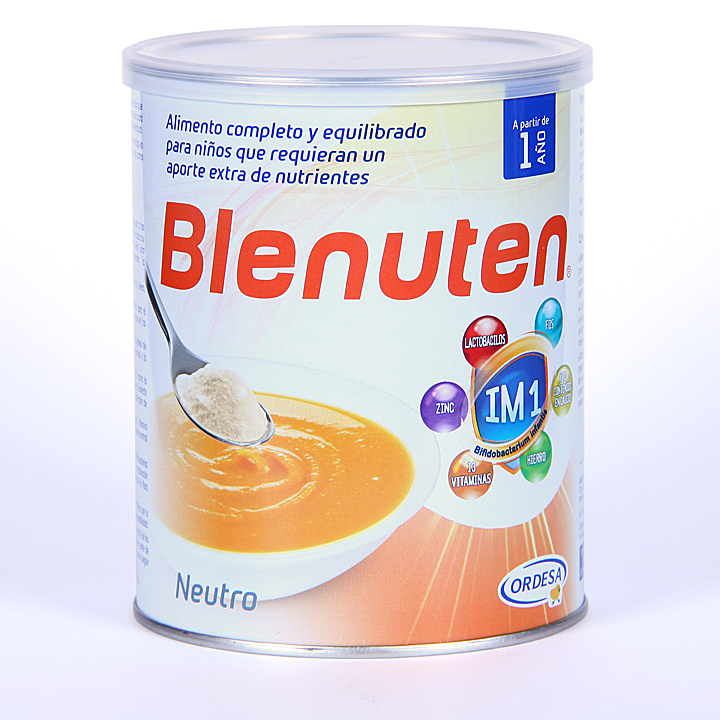 Farmacia Jiménez | Blenuten Neutro 400 g polvo