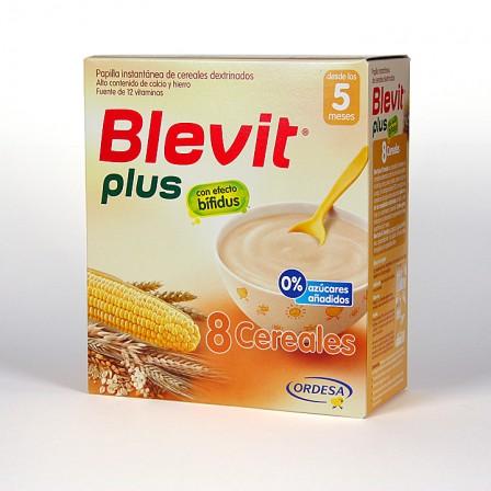 Farmacia Jiménez | Blevit Plus 8 Cereales 600 g