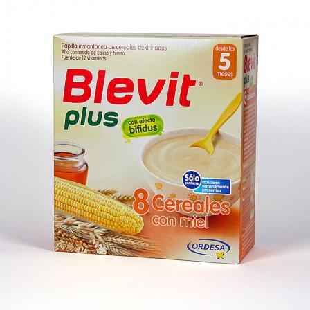 Farmacia Jiménez | Blevit Plus 8 Cereales Miel 600 g