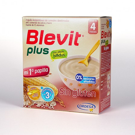 Farmacia Jiménez | Blevit Plus Sin Gluten 600 g