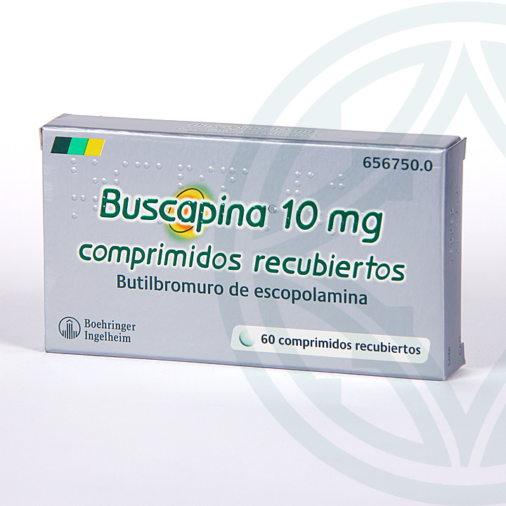 Farmacia Jiménez | Buscapina 10 mg 60 comprimidos recubiertos