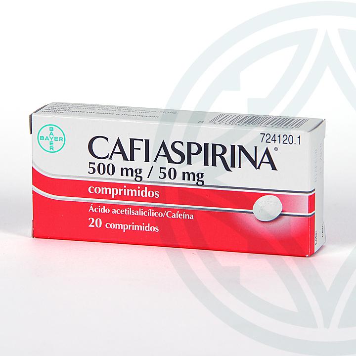 Farmacia Jiménez | Cafiaspirina 20 comprimidos