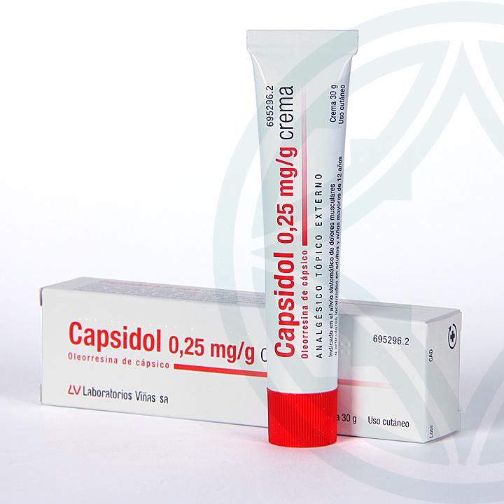Farmacia Jiménez | Capsidol crema 30 g