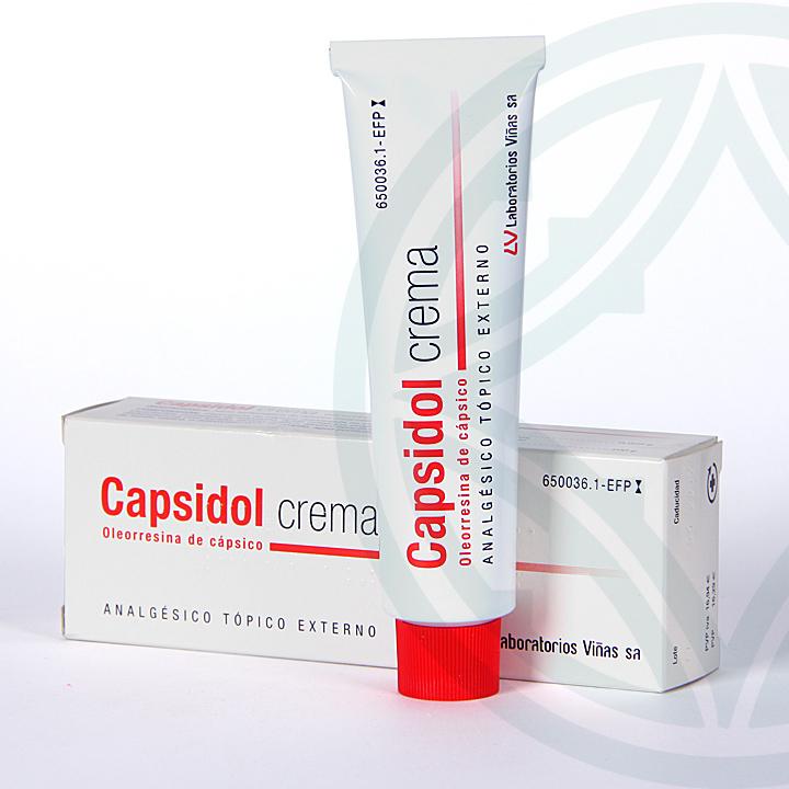 Farmacia Jiménez | Capsidol crema 60 g