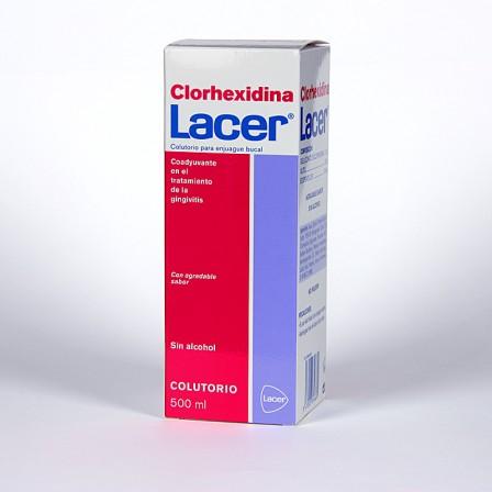 Farmacia Jiménez | Clorhexidina Lacer Colutorio 500 ml