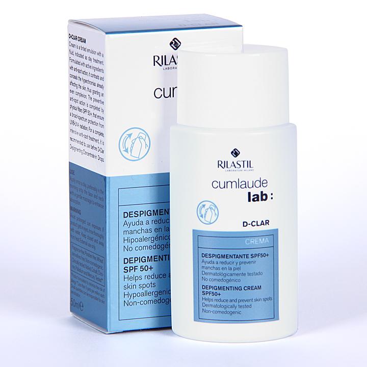 Farmacia Jiménez | Cumlaude D-Clar crema despigmentante SPF 50+ 50 ml
