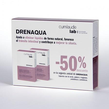 Farmacia Jiménez | Cumlaude Drenaqua 30 cápsulas + 30 cápsulas al 50%