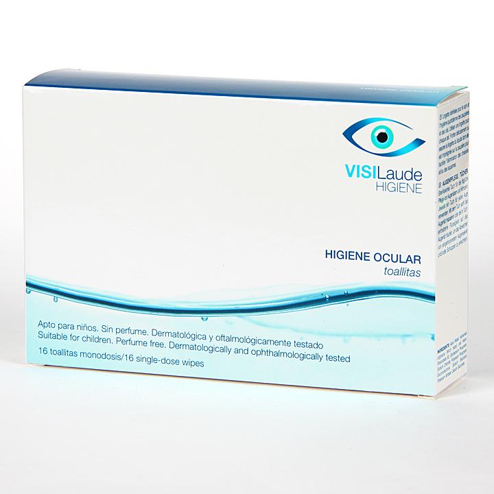 Farmacia Jiménez | Cumlaude Visilaude Higiene Ocular toallitas 16 unidades