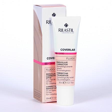 Farmacia Jiménez | Rilastil Cumlaude Coverlab Maquillaje Fluido Sand 03