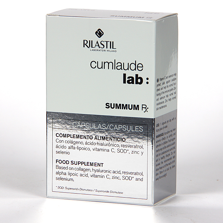 Farmacia Jiménez | Cumlaude Summum Rx Tratamiento Antiedad 30 Cápsulas
