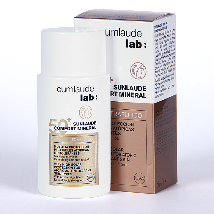Farmacia Jiménez | Cumlaude Sunlaude 50+ Comfort Mineral 50 ml