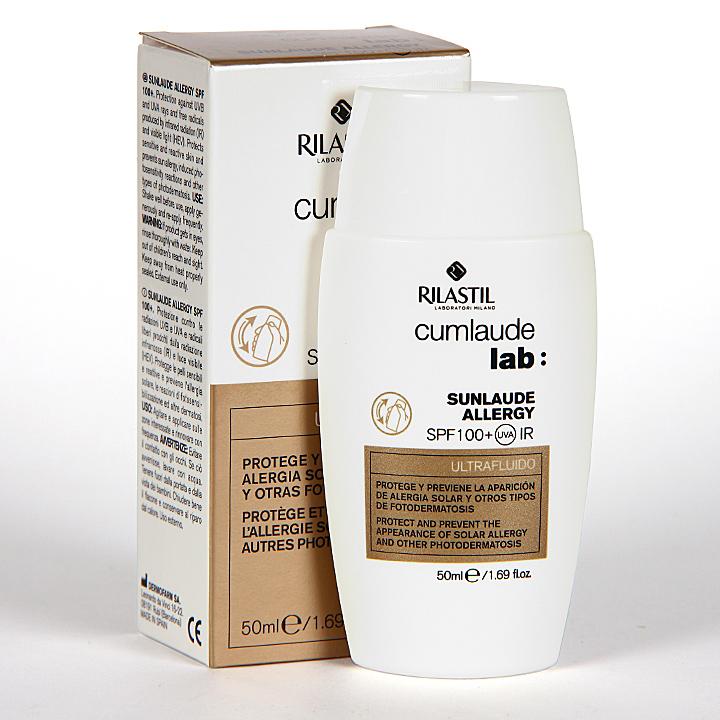 Farmacia Jiménez | Cumlaude Sunlaude Allergy SPF 100+ Ultrafluido 50 ml