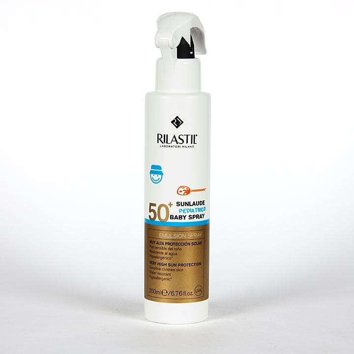 Farmacia Jiménez | Rilastil Sunlaude Baby Spray SPF 50+ 200 ml