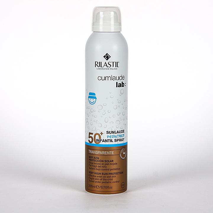 Farmacia Jiménez | Cumlaude Sunlaude SPF50+ Infantil Spray transparente 200ml