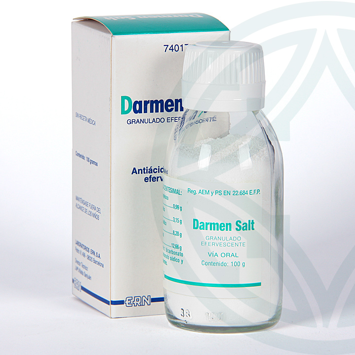 Farmacia Jiménez   Darmen Salt granulado efervescente 100 g