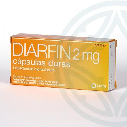 Farmacia Jiménez | Diarfin 2 mg 10 cápsulas