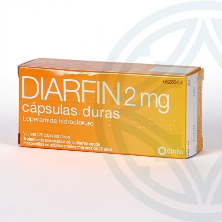 Farmacia Jiménez | Diarfin 2 mg 20 cápsulas