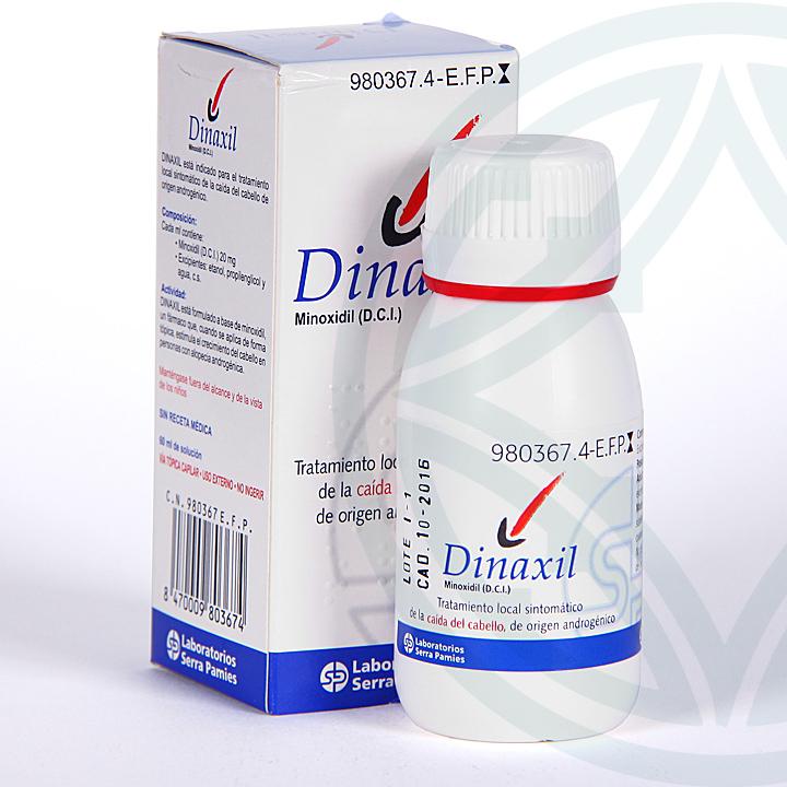 Farmacia Jiménez | Dinaxil Capilar 20mg/ml solución cutánea 60 ml