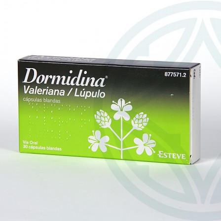 Farmacia Jiménez | Dormidina Valeriana/Lúpulo 30 cápsulas