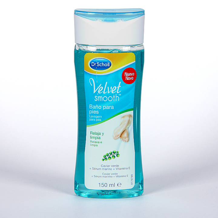 Farmacia Jiménez   Dr. Scholl Velvet Smooth baño para pies 150 ml