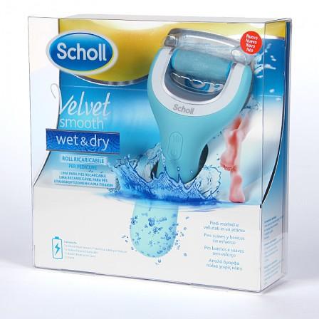 Farmacia Jiménez | Dr. Scholl Velvet Smooth Wet & Dry Lima para pies agua