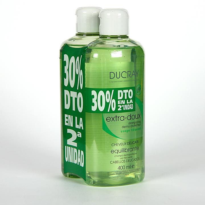 Farmacia Jiménez | Ducray Champú Equilibrante 400 ml Pack Duplo