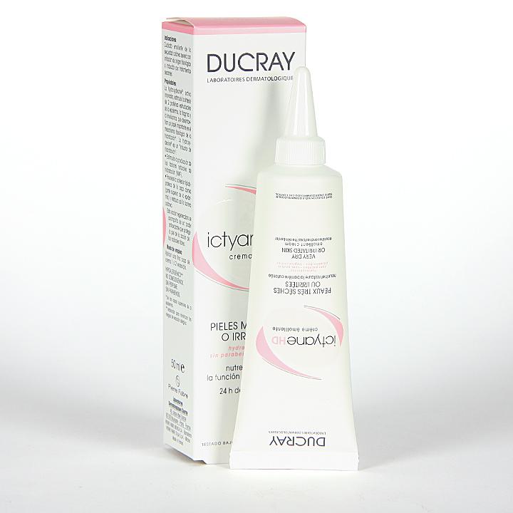 Farmacia Jiménez | Ducray Ictyane HD Crema Emoliente 50 ml