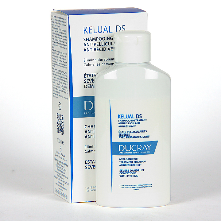 Farmacia Jiménez | Ducray Kelual Ds Champú 100 ml