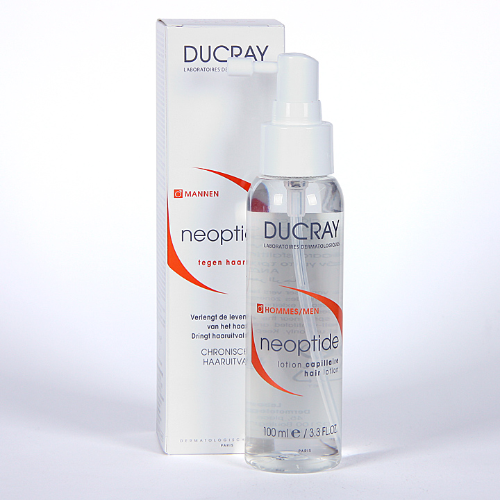 Farmacia Jiménez | Ducray Neoptide Loción Anticaída Hombre 100 ml
