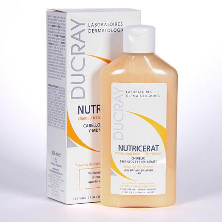 Farmacia Jiménez | Ducray Nutricerat Champú tratante ultra-nutritivo 200 ml