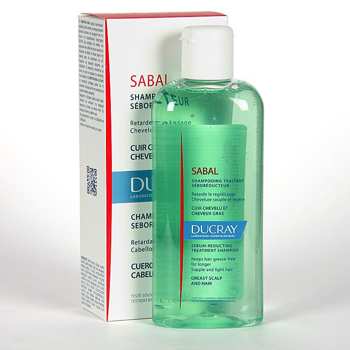Farmacia Jiménez | Ducray Sabal Champú tratante seborregulador 125 ml